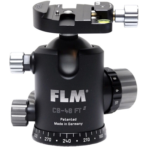 FLM CB-48FTR Ball Head with SRB-60 Quick Release Clamp