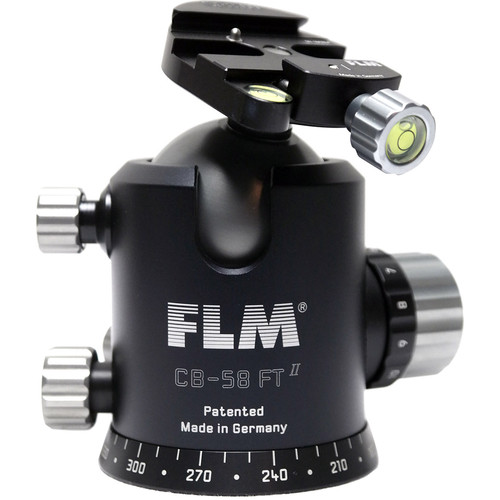 FLM CB-58FTR Ball Head with SRB-60 QR Plate Clamp
